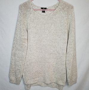 Beige H&M Sweaterlike Top with round neckline